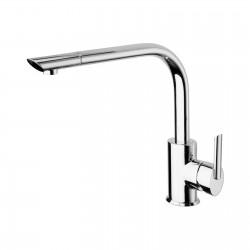 Ovaline rubinetto lavello con doccetta estraibile 26881