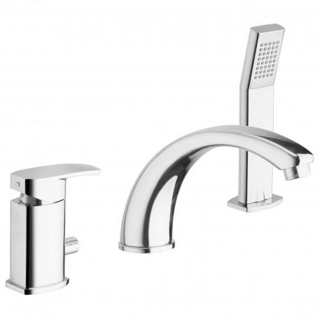 Studio rubinetto bordovasca 3fori (31045)