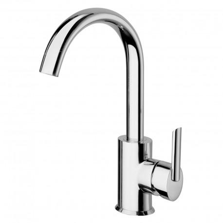 Ovaline rubinetto lavabo con bocca d'erogazione alta (26601)