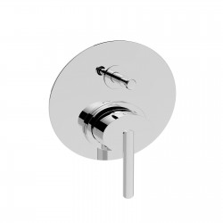 Rubinetto miscelatore monocomando incasso doccia con deviatore Ovaline La Torre 26050R