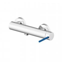 Circle Two rubinetto miscelatore monocomando esterno doccia con leva colorata 9125