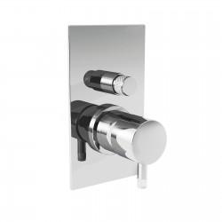 Diametro35 rubinetto incasso doccia con deviatore
