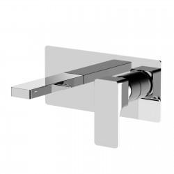 Glitter rubinetto miscelatore monocomando lavabo incasso con placca PR32AH101