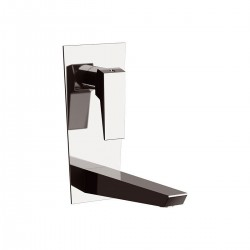 Speed Single-lever built-in basin mixer, with vertical rectangular wall flange SP632