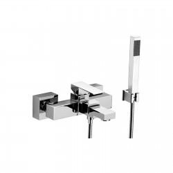Skyline rubinetto miscelatore monocomando per vasca completo di accessori SK610