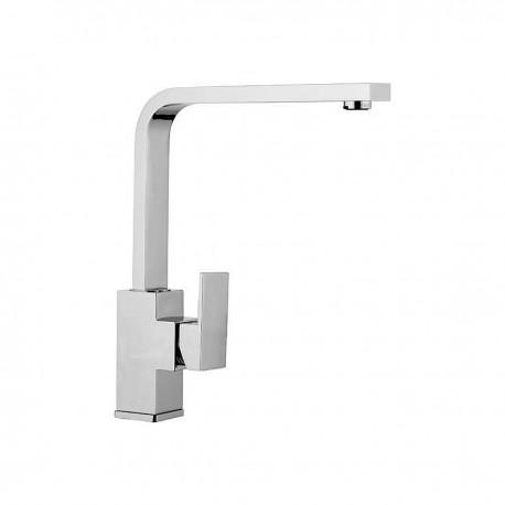 Skyline rubinetto lavello con leva laterale e bocca d'erogazione flessa (SK617)