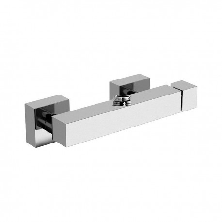 Oxy rubinetto monocomando esterno doccia termostatico con attacco per colonna OX23611Z