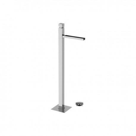 Cube Waterfall rubinetto monocomando per lavabo a pavimento con cascata CW688
