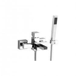 Cube Waterfall rubinetto miscelatore per vasca con accessori CW610