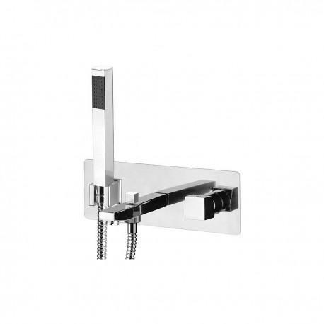 Cube Waterfall rubinetto miscelatore monocomando per vasca incasso CU652