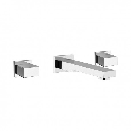 Twin concealed basin mixer W5022