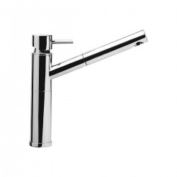 Single lever sink mixer with pull-out spray-jet shower Suvi Daniel RubinetterieS20613