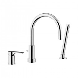 Omega single-lever deck bath/shower mixer with diverter OM691