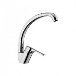 Omega rubinetto miscelatore per lavello con bocca d'erogazione alta girevole OM614T