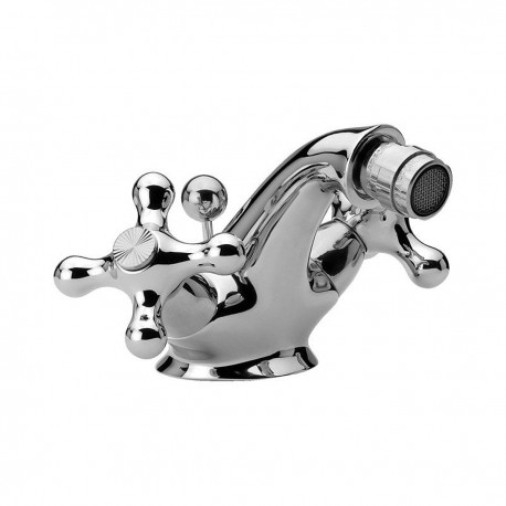 Revival one hole bidet mixer with pop-up waste V6200
