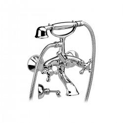 Revival rubinetto per vasca completo di accessori V4101