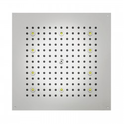 DREAM - Cube Shower heads with RGB LED Lights H37456