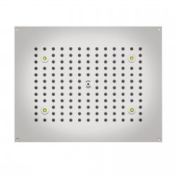 DREAM - Rectangular Shower heads with RGB LED Lights H37450