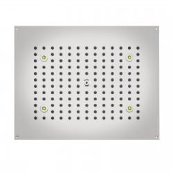 Dream RGB soffione da controsoffitto rettangolare 470x370 mm H37450