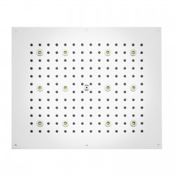 DREAM - Rectangular Shower heads with RGB LED Lights H37455