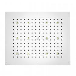 Dream RGB soffione da controsoffitto rettangolare 570x470 mm H37455
