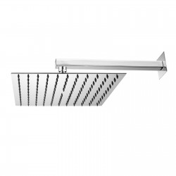 Twiggy Square stainless steel shower head with shower arm H69584H