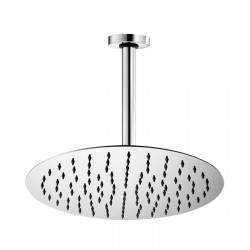Twiggy stainless steel shower head with vertical shower arm H31580G