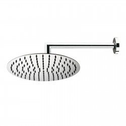 Twiggy stainless steel shower head with shower arm H70581H