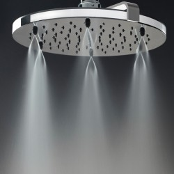 Nebulizair/2 shower head with shower arm H19625G