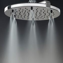 Nebulizair/2 shower head with shower arm H19625G