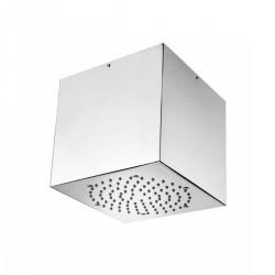 Cube inox soffione quadro 210x210 mm a soffitto H81720