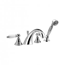 Retrò bathtub set with pull-out shower RT4192