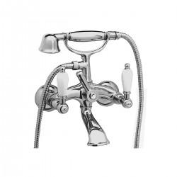 Retrò rubinetto per vasca 2 maniglie a parete RT4102