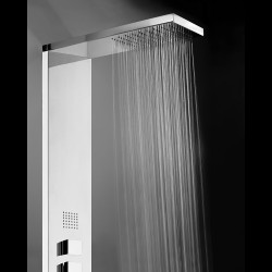 Manhattan 3 function stainless steel shower panel L00890