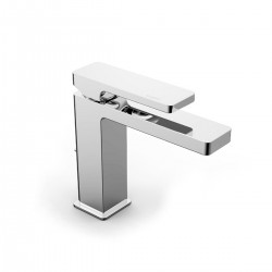 Qquadro single lever washbasin mixer