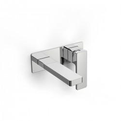 Qquadro rubinetto miscelatore per lavabo incasso a parete