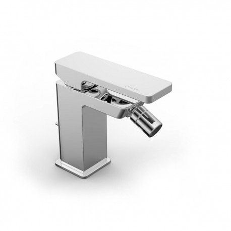 Qquadro rubinetto miscelatore monocomando per bidet