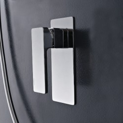 Qquadro concealed shower mixer