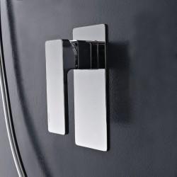 Miscelatore monocomando incasso doccia Qquadro Zazzeri 5700B402A00 - 5700A402A00