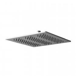 Qquadro antimescale shower head inox 260x260mm