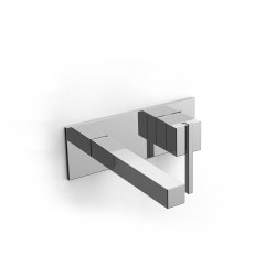 Soqquadro built-in washbasin set