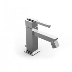 Soqquadro rubinetto miscelatore monocomando per bidet