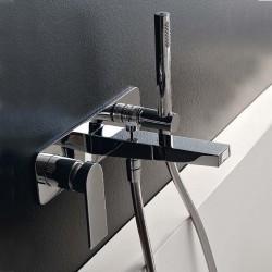 Rubinetto miscelatore per vasca incasso a parete con accessori 100 Zazzeri 2900B113A00 - 3600i401AA0