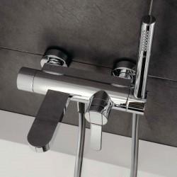 Trend rubinetto miscelatore per vasca completo di accessori