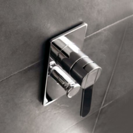 Trend concealed shower mixer with diverter