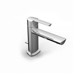 Tango rubinetto miscelatore monocomando per lavabo con bocca d'erogazione lunga