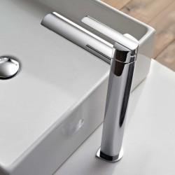 Tango rubinetto miscelatore monocomando per lavabo alto con bocca d'erogazione 150 mm