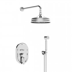 Built-in shower mixer overhead shower and shower set Imperial 15050RSOFFKIT