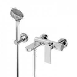 100 rubinetto miscelatore per vasca completo di accessori