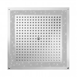 Soffione da controsoffitto quadrato 470x470 mm Dream Crystal Line Bossini H38459-050